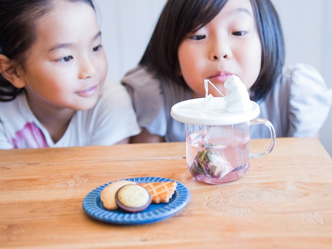 Tea bag holder shirokuma desgined by NECKTIE design office